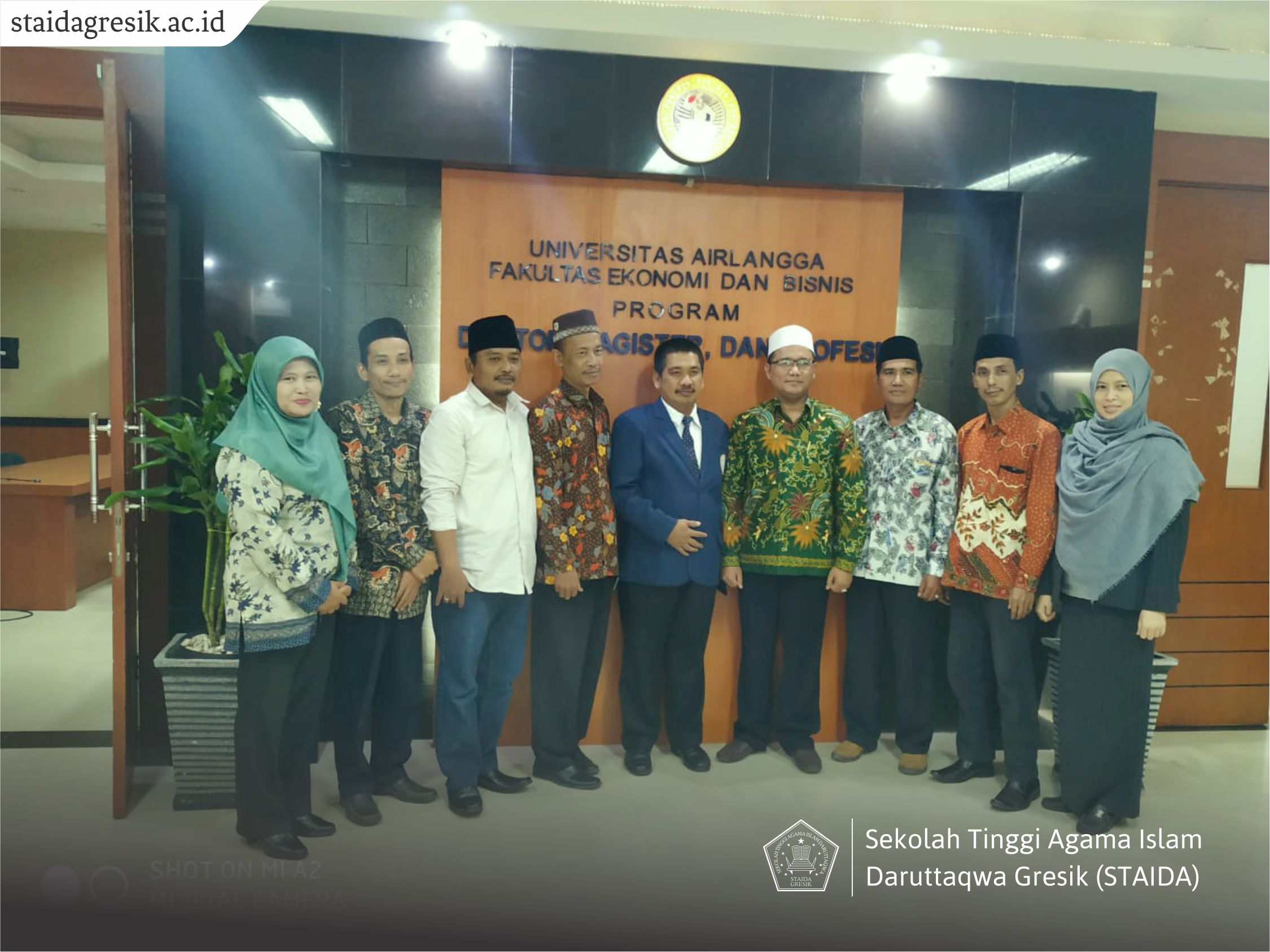 Chairperson of STAI Daruttaqwa Gresik Wins Doctoral Degree at Airlangga University in Surabaya